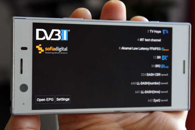 DVB releases free reference client for DVB-I services — Crypton